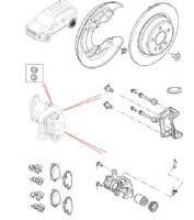 Rear Brake Pads, Discs & Calipers from VIN GH000001